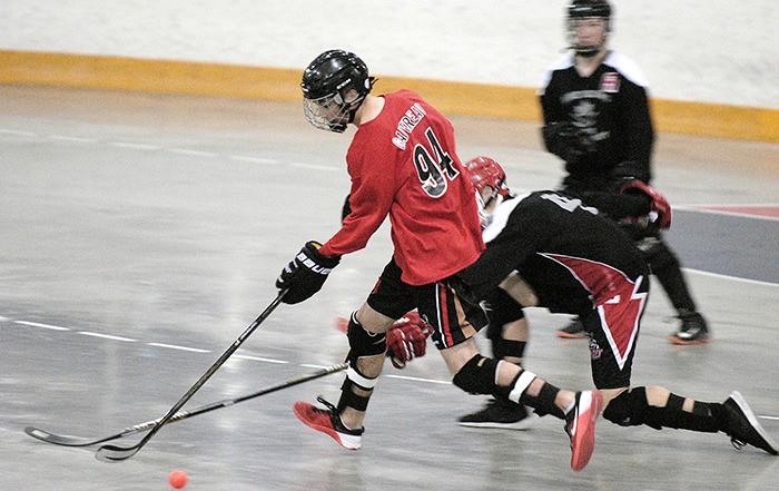 Maple ridge ball hockey