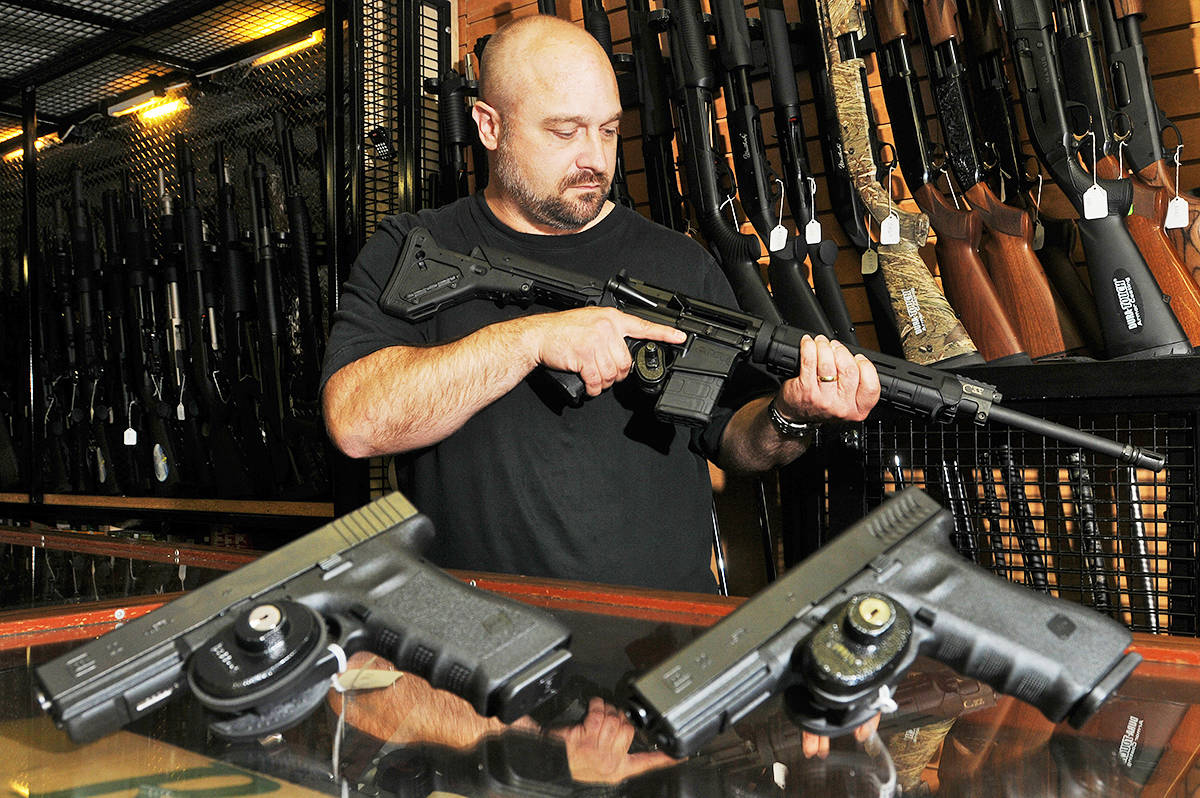 Web poll: Should the Government of Canada ban all handguns