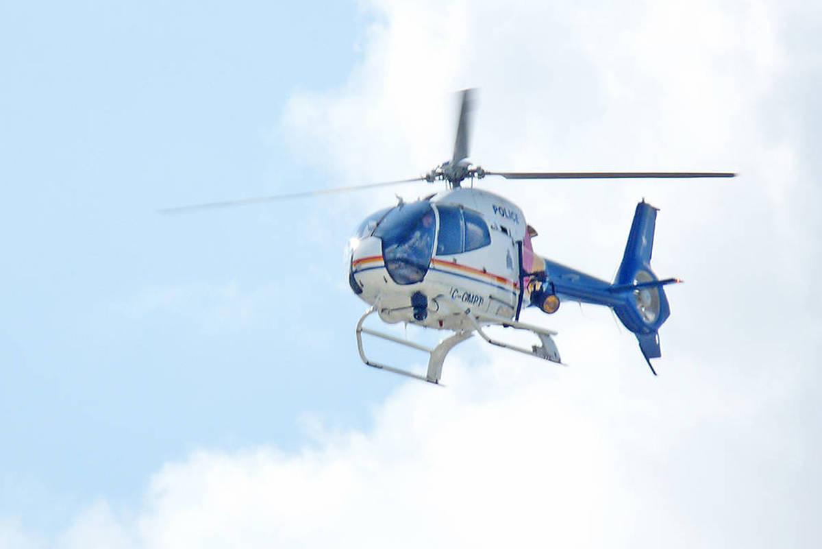 RCMP 'amending' helicopter training after complaints in Surrey