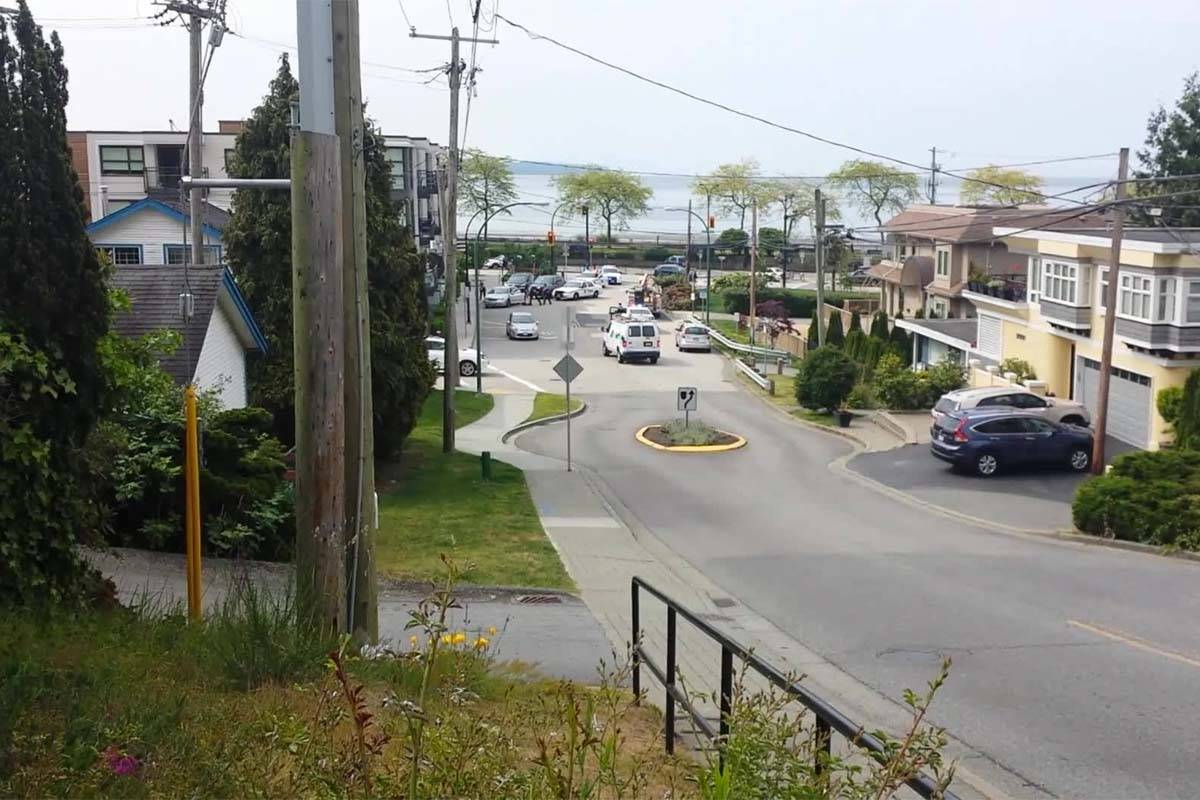 White Rock RCMP receive report of person with gun, ended up being