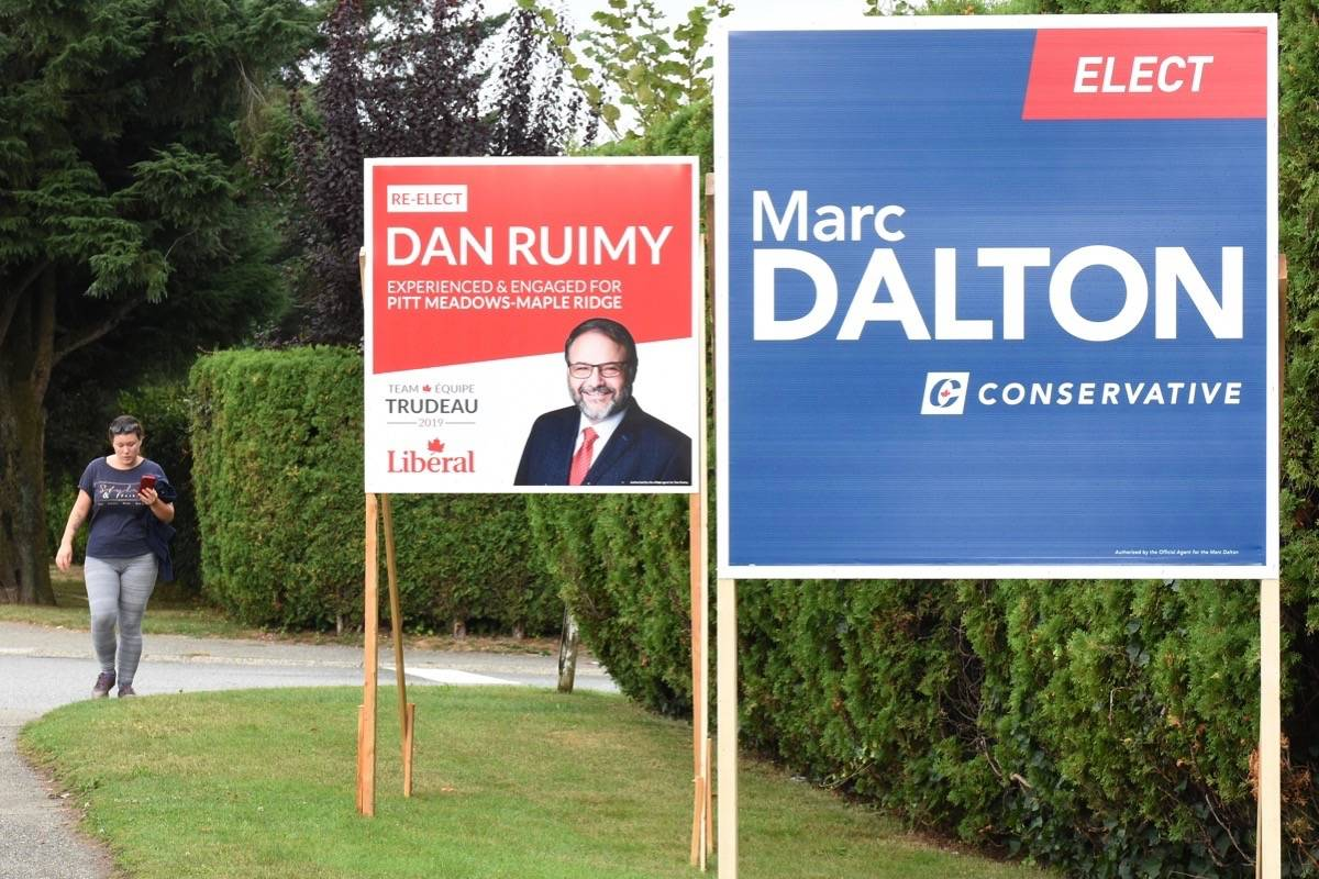 Federal election: Five in race for Pitt Meadows-Maple Ridge riding