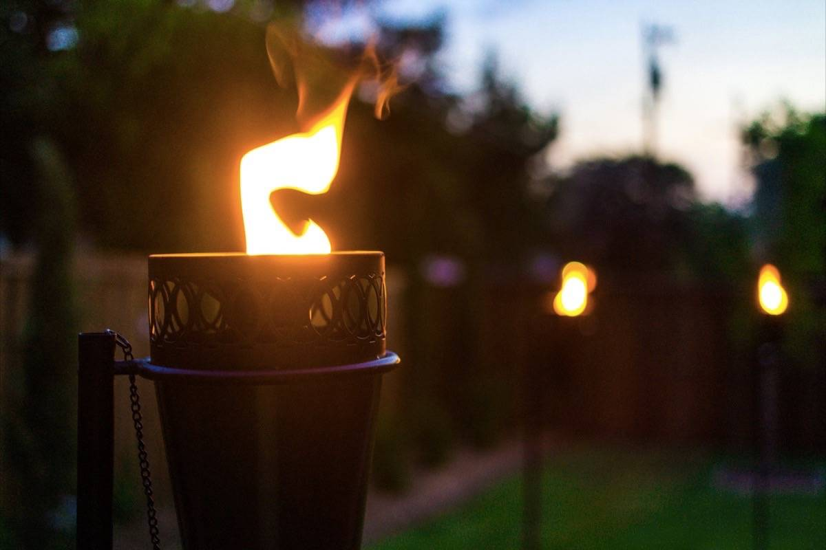 Break out the tiki torches: Open fires allowed again in B.C.'s coastal region