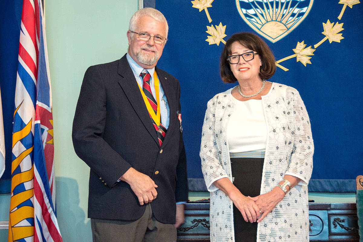 Maple Ridge man, 61, awarded high honours in Victoria