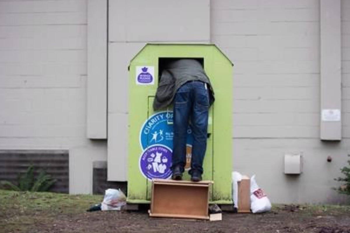 Clothing donation bins still banned in Pitt Meadows