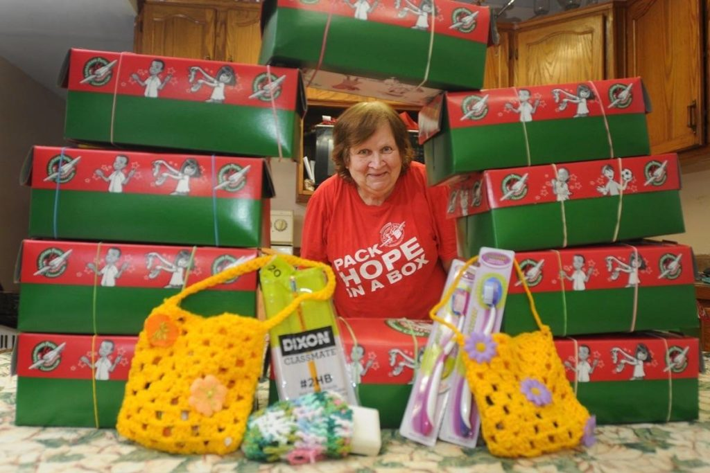 Maple Ridge charity filling shoeboxes with love - Maple Ridge News