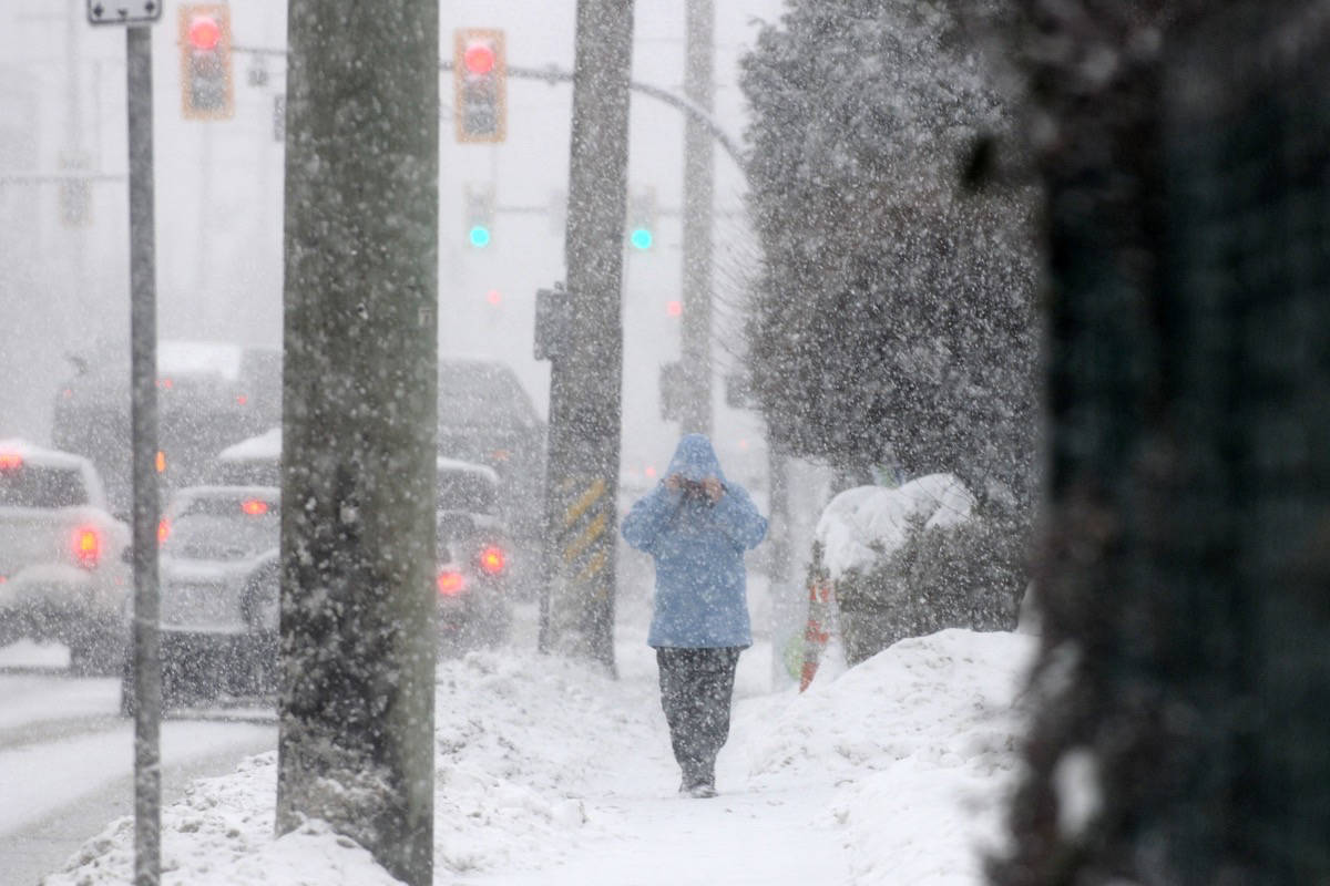 More snow for Maple Ridge and Pitt Meadows