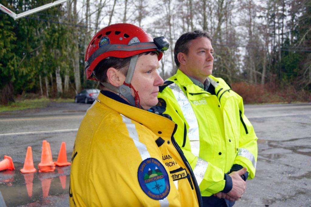 Two scout leaders missing near Sooke after swollen creek traps troop - Maple Ridge News