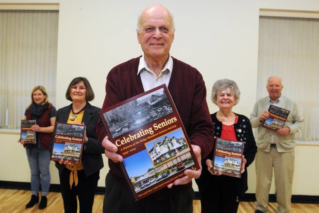 Book documenting the history of the Ridge Meadows Seniors Society to be unveiled - Maple Ridge News