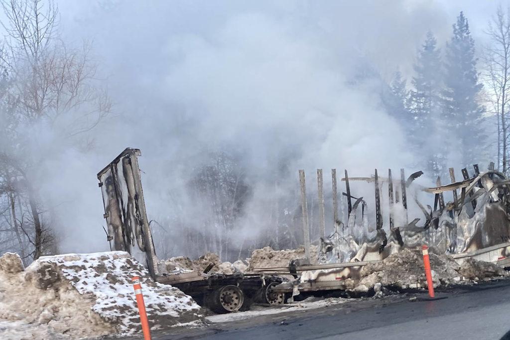 UPDATE: Two killed in fiery collision on Highway 1 near Revelstoke - Maple Ridge News