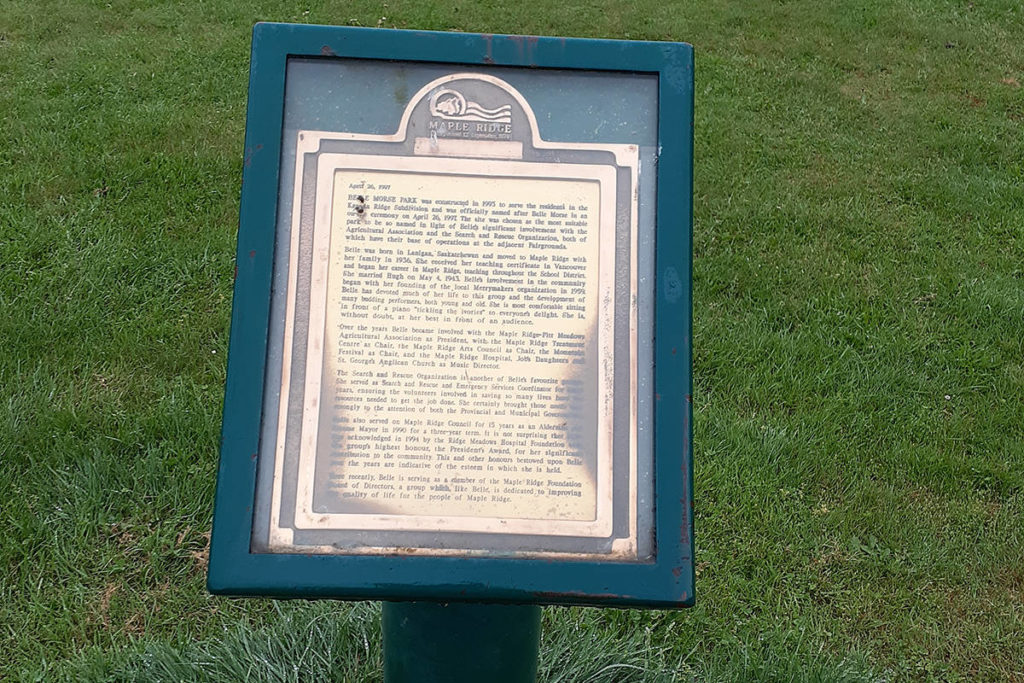 'Just getting to know Maple Ridge': local resident discovers historical markers - Maple Ridge News