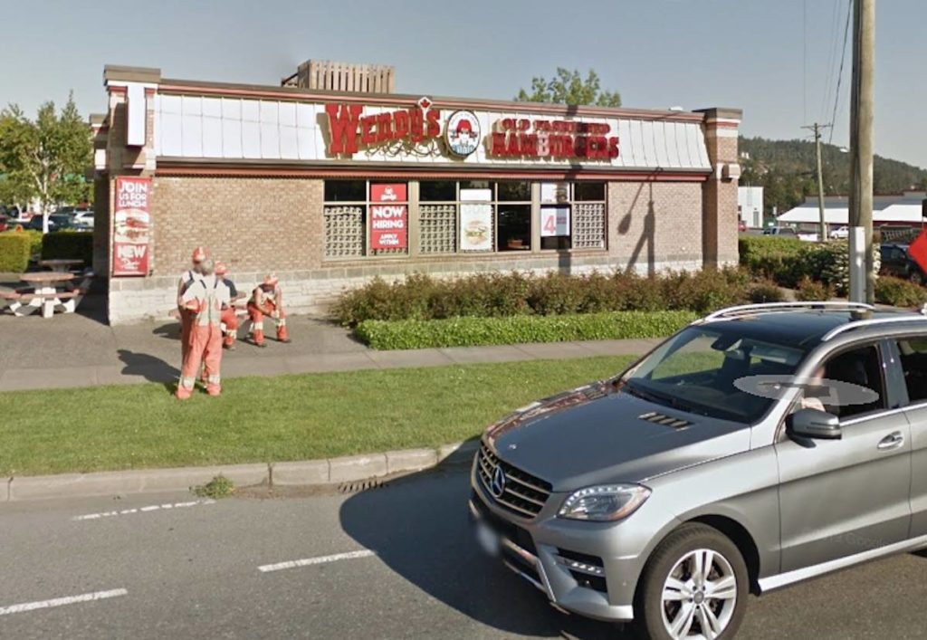 Greater Victoria drive-thru window smashed after man receives burger without mustard - Maple Ridge News