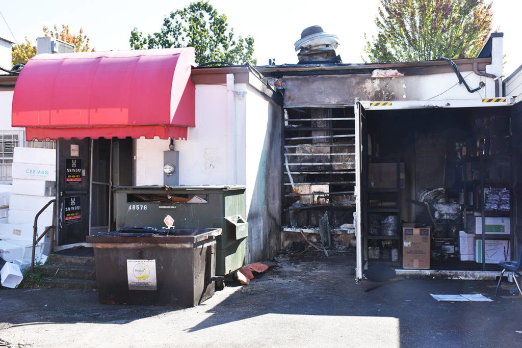 Maple Ridge firefighters battle pair of early morning blazes - Maple Ridge News