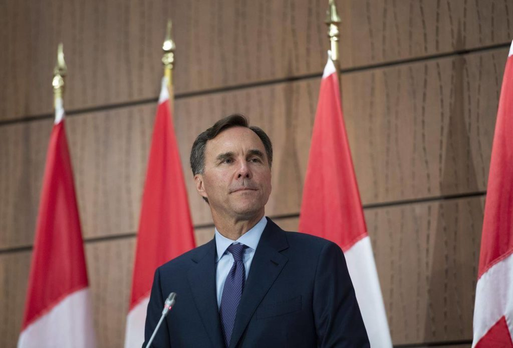 Ethics watchdog clears Morneau of accepting gift from WE Charity - Maple Ridge News
