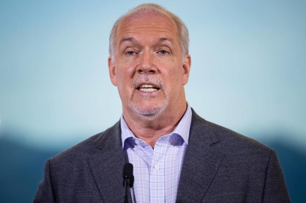 Horgan's NDP to bring in throne speech in B.C., Opposition wants coherent plan - Maple Ridge News