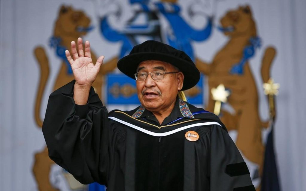 'You didn't get the best of me': Residential school survivor gets honorary doctorate - Maple Ridge News