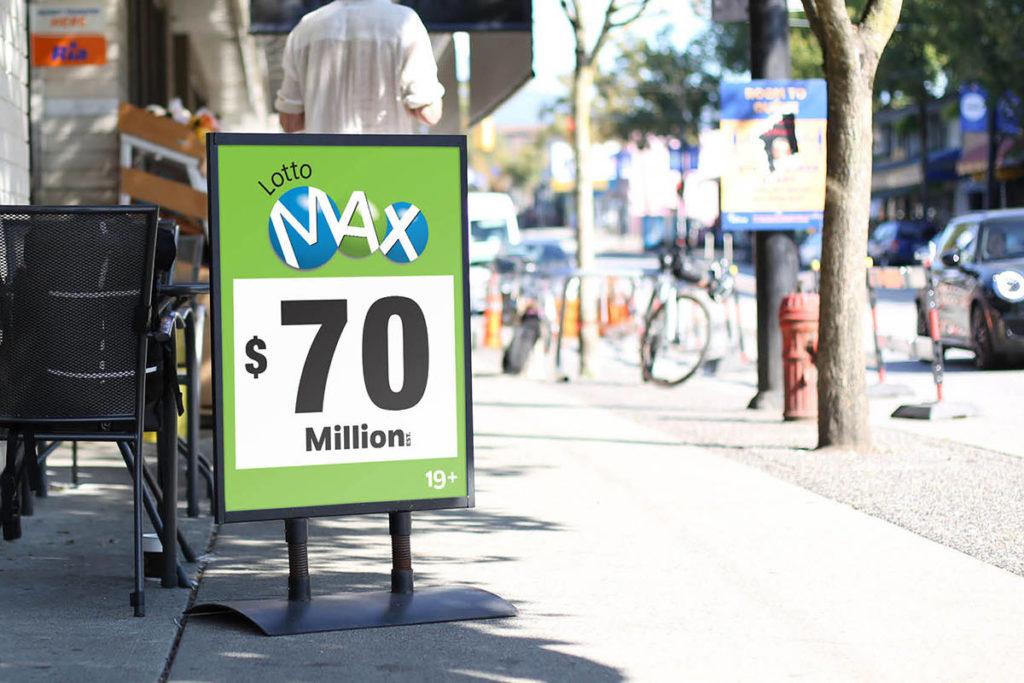 No winning ticket for Friday's $70 million Lotto Max jackpot - Maple Ridge News