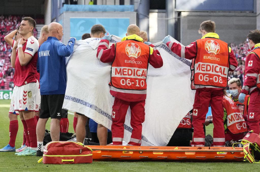 Denmark soccer player Christian Eriksen collapses during game against Finland - Maple Ridge News