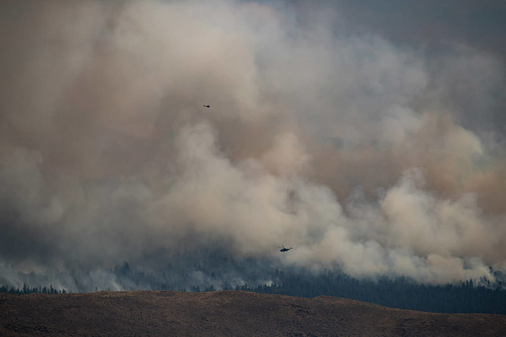 Air quality advisory due to wildfire smoke issued for Metro Vancouver, Fraser Valley - Maple Ridge News